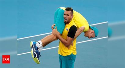 Australia edge Britain in epic ATP Cup quarter-final clash