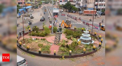 Trichy: Work to resize Anna roundabout begins