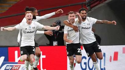 Fulham beats Brentford to secure return to Premier League