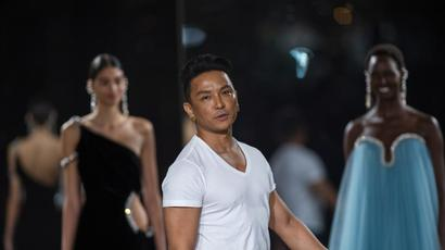 New York Fashion Week: Prabal Gurung celebrates the churning creative energy of...