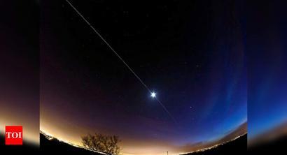 You can spot International Space Station from Delhi, Jaipur, Rajkot, Ahmedabad tonight