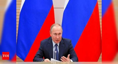 'There will be dad and mum': Putin rules out Russia legalising gay marriage - Times of India