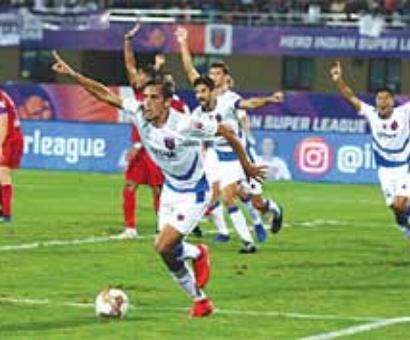 Odisha down NEUFC 2-1