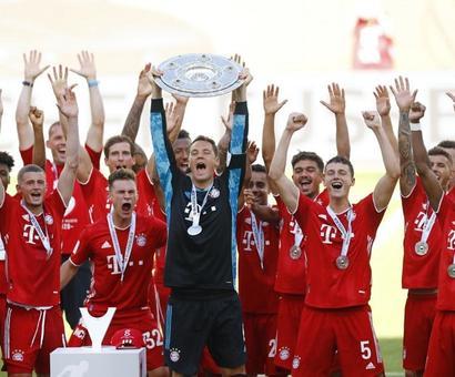 Bundesliga Champions Bayern Rout Wolfsburg, Dortmund Crash vs Hoffenheim