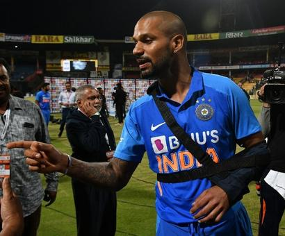 Shikhar Dhawan Doubt For New Zealand Tour With Shoulder Injury