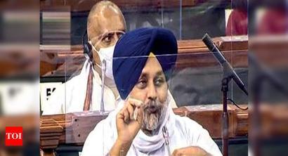 Shiromani Akali Dal toughens stance, to vote against farm bills in Rajya Sabha