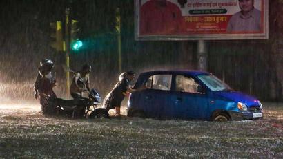 Heavy rains in Jaipur bring city to standstill