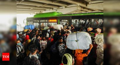 Delhi-UP border sees rush for home ahead of Eid