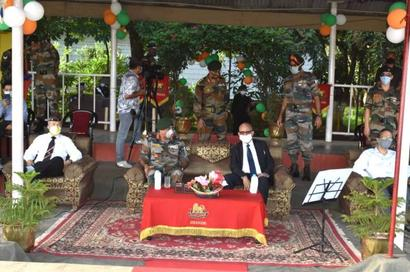 Army organises colourful band display, enthrals Imphal