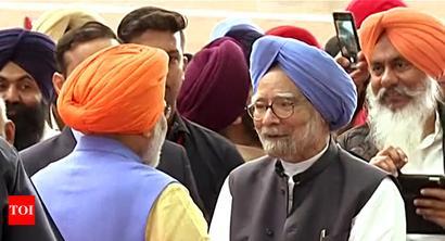 Kartarpur corridor's opening to 'enormously improve' India-Pakistan ties: Manmohan Singh