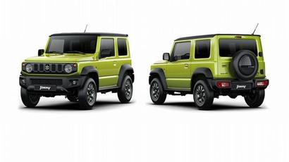 Maruti Suzuki Jimny may come to India with five doors