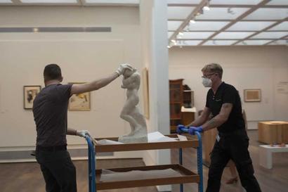 Coronavirus pandemic: Art, artifacts back on display for Israel Museum reopening
