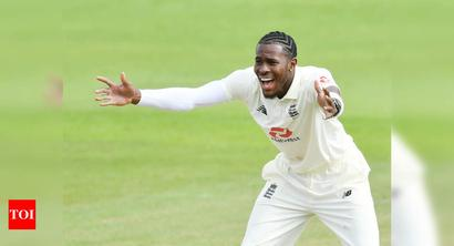 Jofra Archer bemoans luck with England off target in first Test