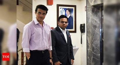 Application against BCCI's bid for extension for Ganguly, Shah