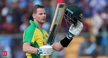 Steve Smith makes hundred as Australia set India 287-run target to win series