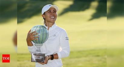 Danielle Kang edges Celine Boutier to capture first title of LPGA return
