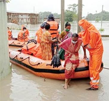 State flood situation improving, death toll 109