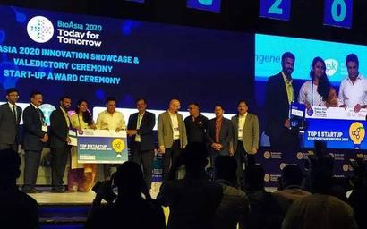 IIT-H startup among top five at BioAsia summit