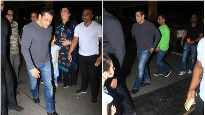 Salman Khan snatches phone of a fan taking selfie with him, video goes viral