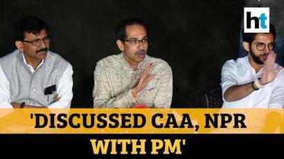 No one needs to fear CAA, NPR: Uddhav Thackeray after meeting PM Modi