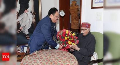 BJP president Nadda meets veteran leaders Advani, Murli Manohar Joshi