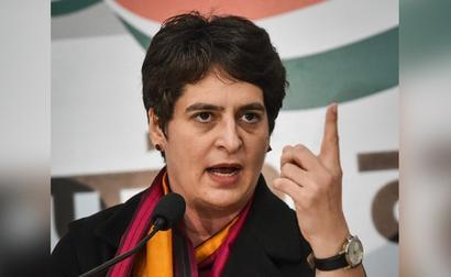 Raising Voice In A Democracy Not A Crime, Says Priyanka Gandhi Vadra