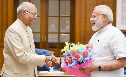 President, Union Ministers Extend Greetings To PM Modi On His Birthday