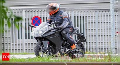 New KTM RC 390 spy shots reveal drastic transition