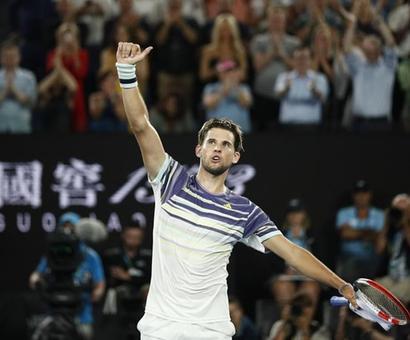 AO PHOTOS: Thiem slays Nadal, meets Zverev in semis