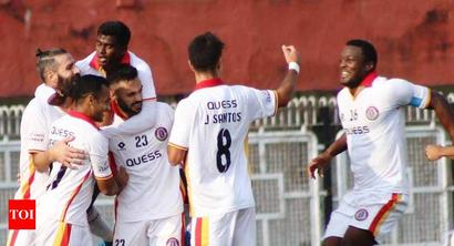 Ruthless East Bengal outplay Neroca 4-1 in I-League