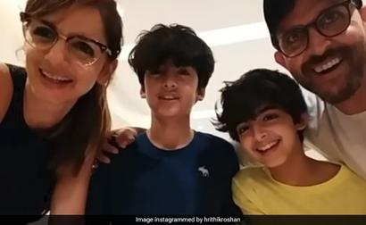 How Hrithik Roshan And Ex-Wife Sussanne Celebrated Son Hrehaan's Birthday