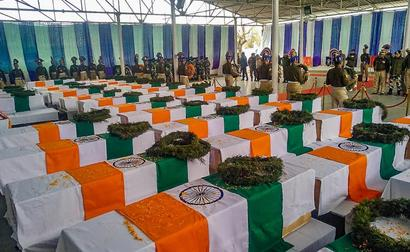 BJP, Opposition spar on Pulwama attack anniversary as Rahul Gandhi, Md Salim question delay in probe