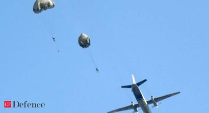 Indian Army conducts biggest airborne exercise 'Winged Raider' with over 500 Special Forces troops