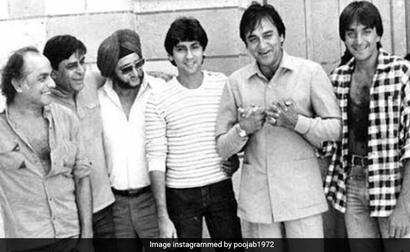 Pooja Bhatt Digs Out A Throwback Of Sunil Dutt, Sanjay And Mahesh Bhatt