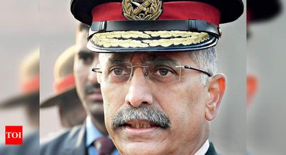 Army chief arrives on two-day maiden visit to J&K