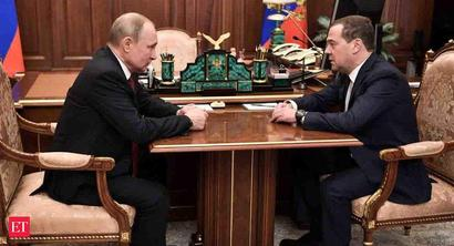 Russian government resigns; President Vladimir Putin proposes constitutional reforms