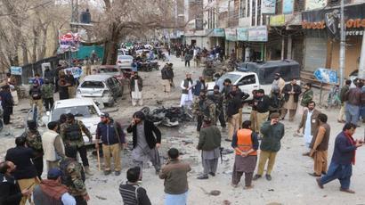 10 killed in suicide blast in southwestern Pakistan city of Quetta