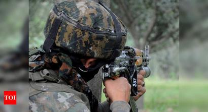 Militant killed in encounter in Jammu and Kashmir's Baramulla