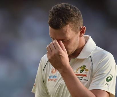 Hazlewood Ruled Out Of 1st Test Against New Zealand With Hamstring Strain