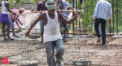 Demand for work under the rural employment guarantee scheme falls sharply in July