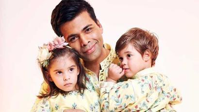Karan Johar asks his twins about coronavirus, Roohi is only interested in Peppa...