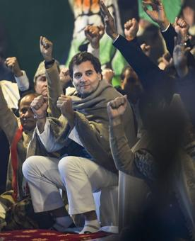 Rahul thanks youth for 'anti-Partition' stir