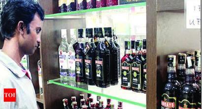 Monsoon fury hits liquor sale in coastal districts