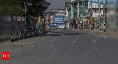 Curbs remain in place in Kashmir valley