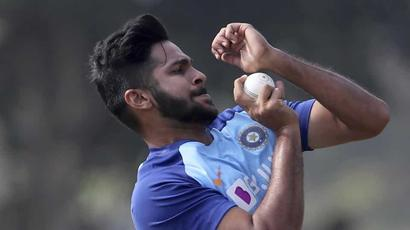 Shardul Thakur hits nets after long break due to Covid-19 lockdown