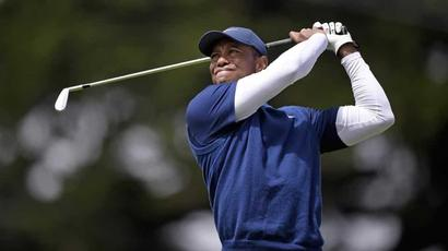 Tiger Woods faces another Sunday at a major with little hope