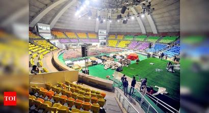 Use stadiums as makeshift Covid facilities: Panel