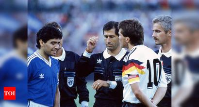 Could've sent off Maradona during anthems: 1990 WC final referee