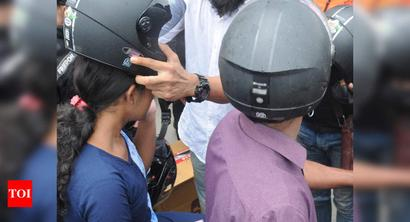 UP: Riding sans helmet to invite Rs 500 fine
