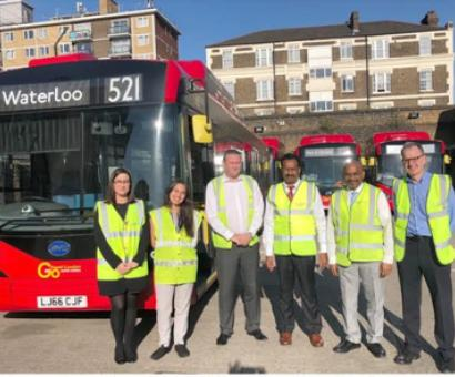 TN min visits London to study about e-buses